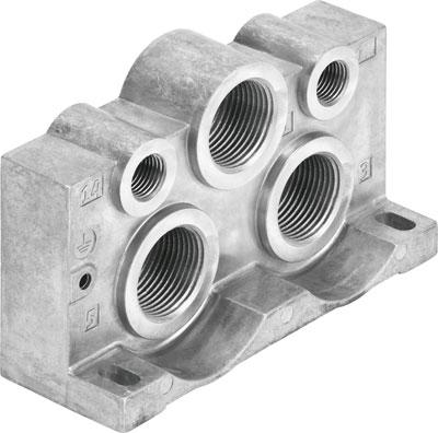 Торцевая плита Festo VABE-S1-2LZ-N34