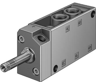 Распределитель с электроуправлением Festo MFH-5-1/4-S-NPT