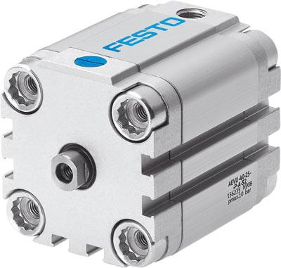 Компактный цилиндр Festo AEVU-100-P-A-S2