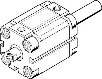 Компактный цилиндр Festo AEVU-12-P-A-S26
