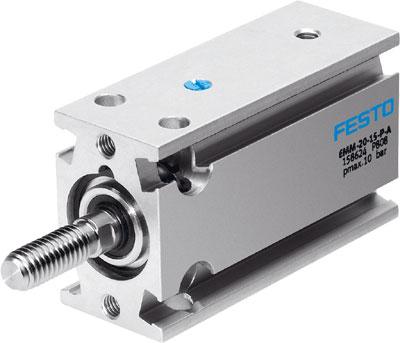 Компактный цилиндр Festo EMM-25-10-P-A