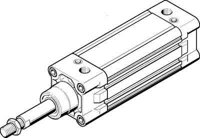Стандартный цилиндр Festo DNC-63-PPV-A