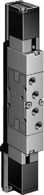 Распределитель с электроуправлением Festo MVH-5/3G-1/8-B-VI-X