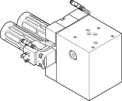 Отсечные клапаны Festo PAHL-SM-RE