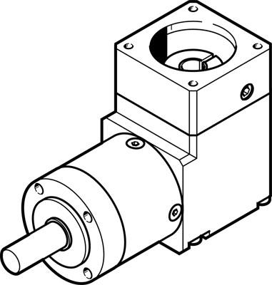 Передаточный модуль Festo EMGA-40-A-G5-40P