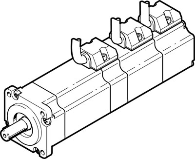 Серводвигатель Festo EMMB-AS-40-01-SB