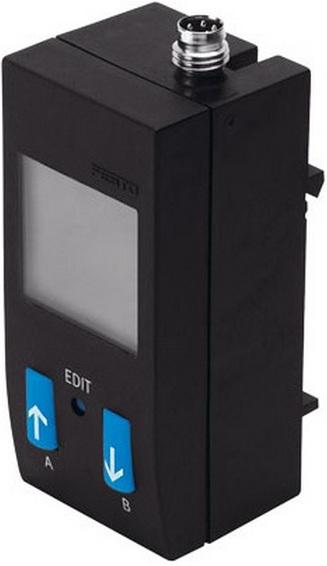 Датчик давления Festo SDE1-D10-G2-HQ4-L-P2-M8
