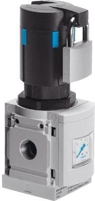 Регулятор давления Festo MS6N-LR-1/4-D5-AS