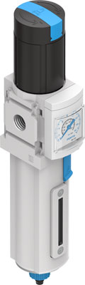 Фильтр-регулятор давления Festo MS4N-LFR-1/8-D7-EUV-AS