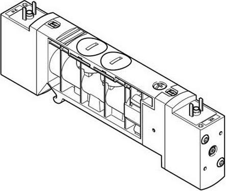 Распределитель Festo VUVB-S-B42-ZD-QX-1C1