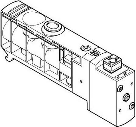 Распределитель Festo VUVB-S-M32C-AZD-Q6-3AC1
