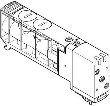 Распределитель Festo VUVB-S-M42-AZD-QX-1T1L