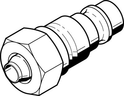 Быстроразъемный штекер Festo KS-PK-4-1/8
