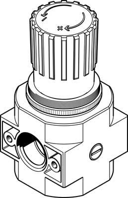 Регулятор давления Festo LR-D-7-MIDI
