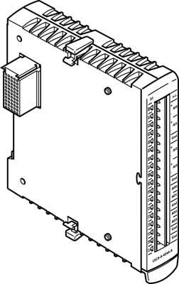 Модуль входа/выхода Festo CECX-A-4E4A-A