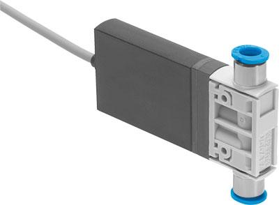 Распределитель с электроуправлением Festo MHJ10-S-0,35-QS-1/4-MF-U