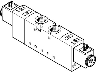 Распределитель с электроуправлением Festo VUVS-LT30-T32U-MZD-G38-F8-1C1