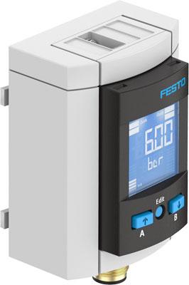 Датчик давления Festo SPAU-P10R-MS6-F-L-PNLK-PNVBA-M12D