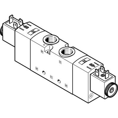 Распределитель с электроуправлением Festo VUVS-LT30-T32H-MZD-G38-F8-1B2