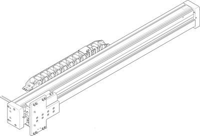 Модуль перемещения Festo EHMZ-EGC-120-BS-KF