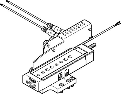 Модуль перемещения Festo DHMZ-DGSL-6