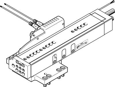 Модуль перемещения Festo DHMZ-DGSL-12