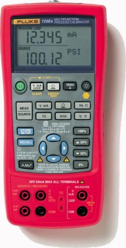 Многофункциональный калибратор процессов Fluke 725Ex (безопасный) 2098179