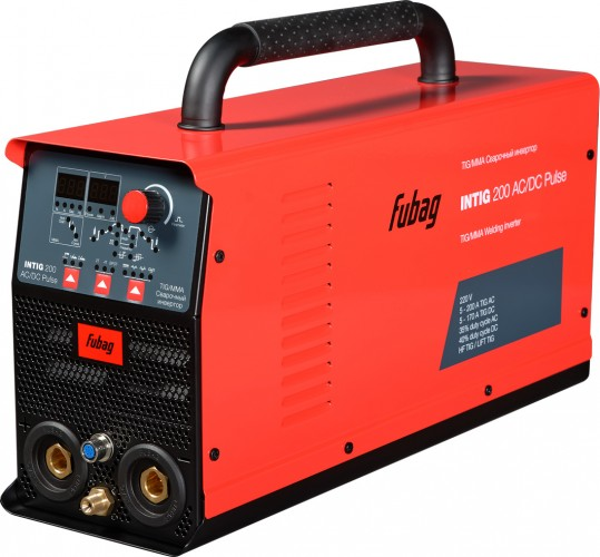 Аппарат аргонно-дуговой сварки Fubag INTig 200 AC/DC Pulse 31412.1