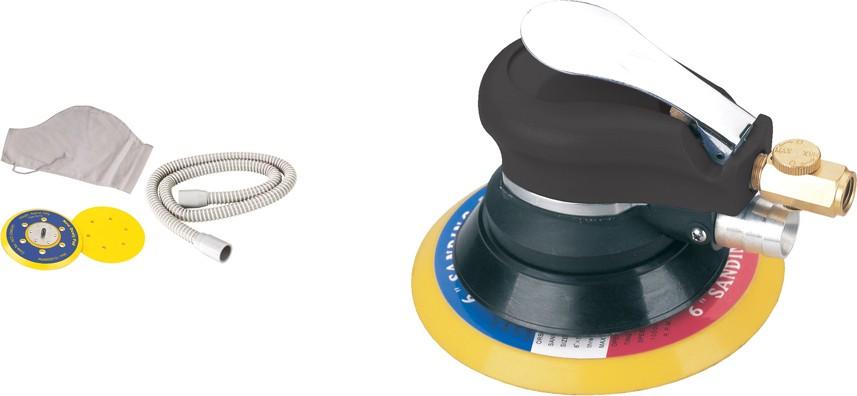 Шлифмашина эксцентриковая пневматическая Fubag SR150CV с набором для пылеотведения 100182