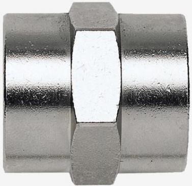 Переходник Fubag 180231B F3/8-F3/8 цилиндр. муфта (1225/4)