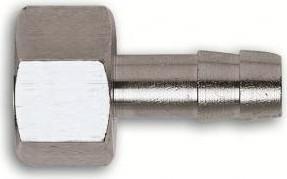 Переходник Fubag 180252B внутр.резьб.F1/4-ёлочка 10мм (1227/3)