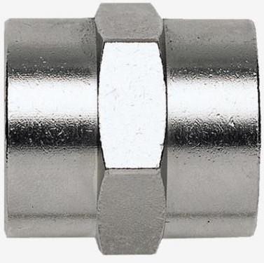 Переходник Fubag 180230B F1/4-F1/4 цилиндр. муфта (1225/3)