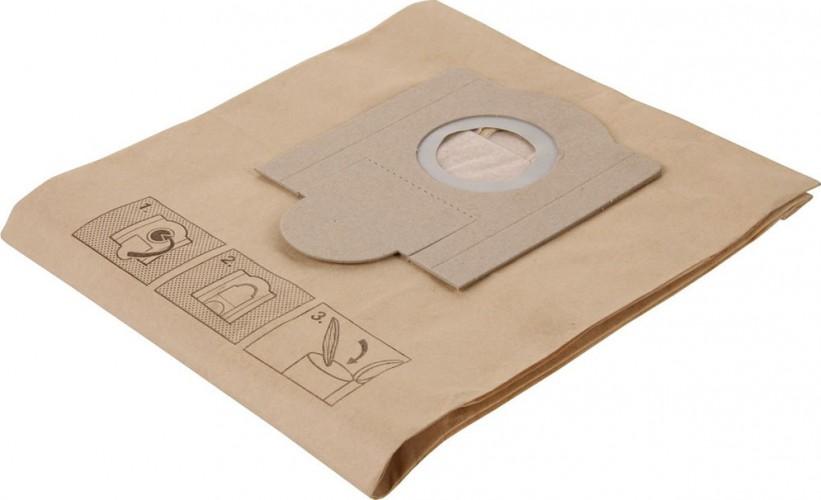 Комплект мешков бумажных Fubag для пылесоса Wde 3600_M-класса_5 шт. в упаковке_аналог 423000 [750447]