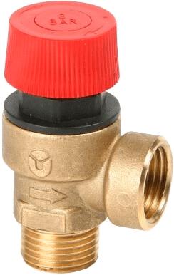 Предохранительный мембранный клапан Н-В резьба Genebre 3182 04
