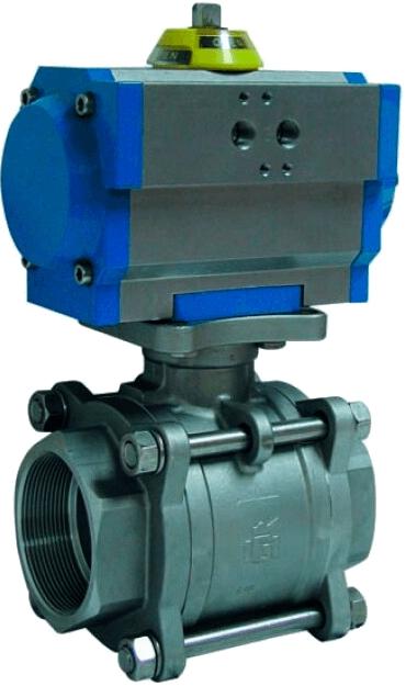 Клапан серии 2025 с приводом Genebre 5025 10 142