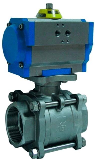 Клапан серии 2027 с приводом Genebre 5027 02 124