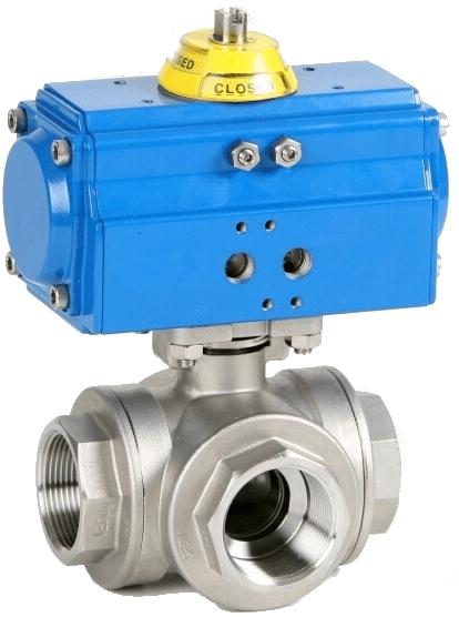 Клапан серии 2040 с приводом Genebre 5040 06 132