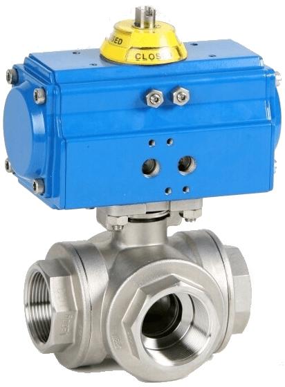 Клапан серии 2041 с приводом Genebre 40394