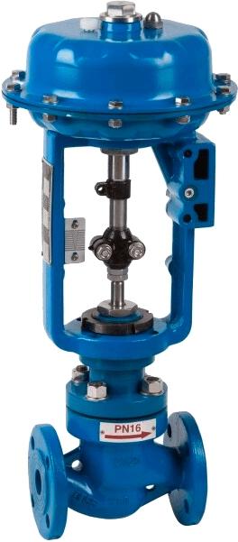 Двухходовой пневматический клапан плавного регулирования Genebre 5065 10