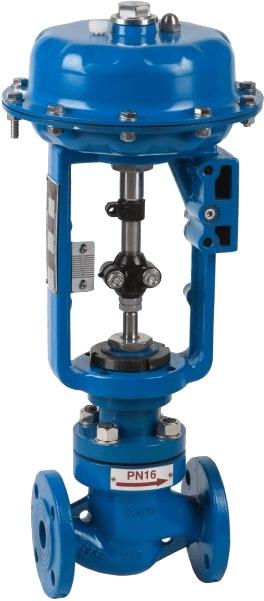 Двухходовой пневматический клапан плавного регулирования Genebre 5065A 05