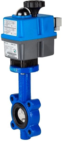 Клапан серии 2108 с электроприводом Genebre 5608 20 62