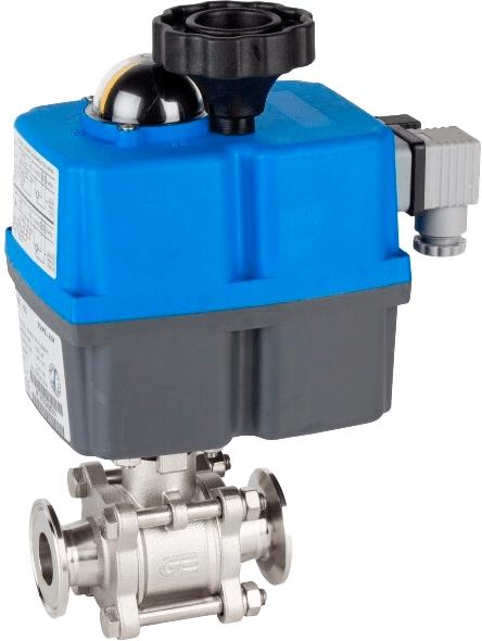 Клапан серии 2933 с электроприводом Genebre 5613 12 54