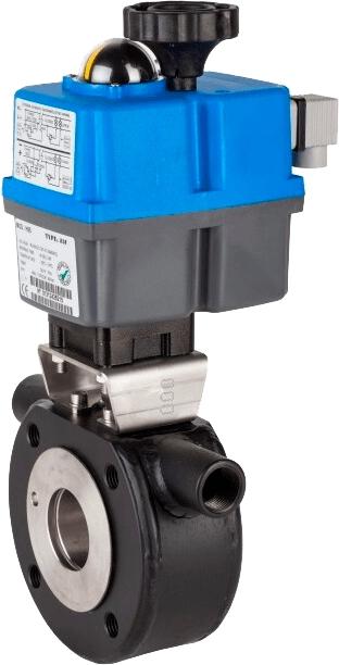 Клапан серии 2115 с электроприводом Genebre 5615 08 52