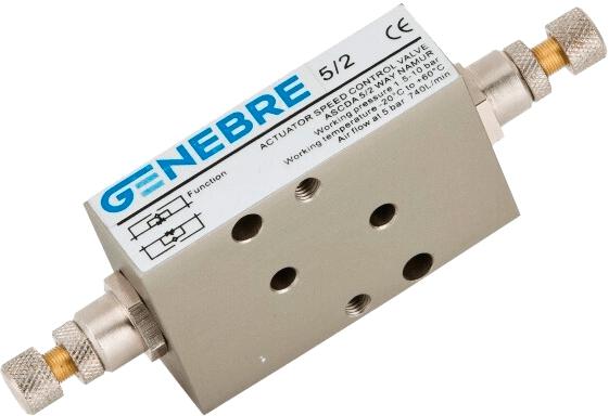 Пневмопривод-регулятор скорости Genebre 5953 02