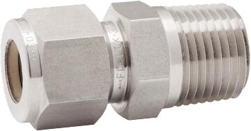 Соединитель Н резьба-труба для жесткой трубы в дюймах Genebre 8405N 04 03