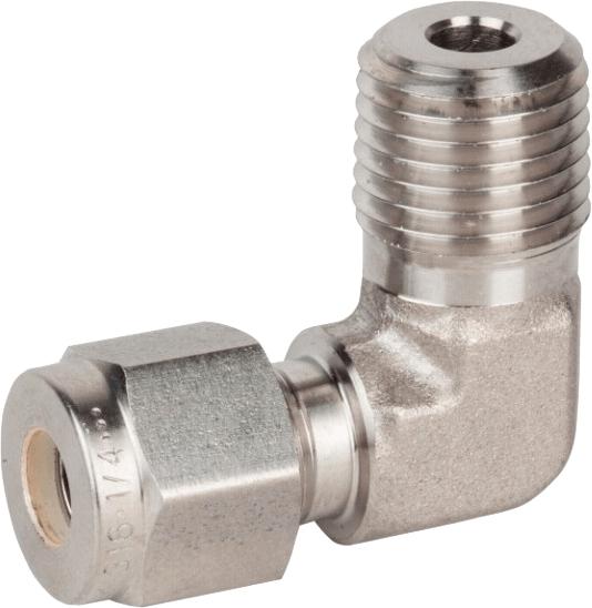 Колено Н резьба-труба для жесткой трубы в дюймах Genebre 8406N 04 04