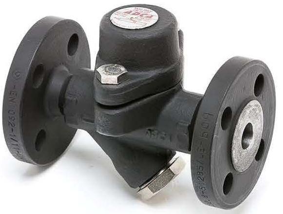 Конденсатоотводчик биметаллический стальной фланцевый ADCA BM24 DN25 PN40