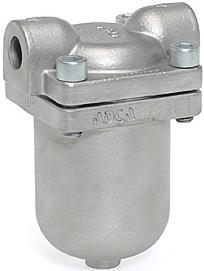 Конденсатоотводчик поплавковый с перевернутым стаканом стальной резьбовой ADCA IB30S-8 DN1/2 PN40