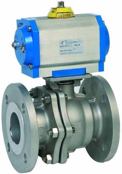 Клапан серии 2529 с приводом Genebre 40552