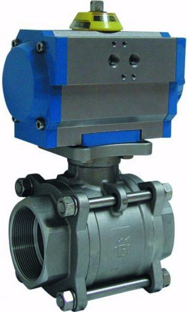 Клапан серии 2025 с приводом Genebre 5025 05 74